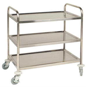 3 Tier Clearing Trolley Large