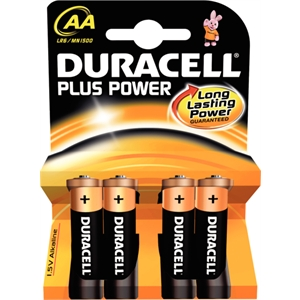 AA Duracell Batteries (4 Pack)