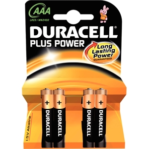 AAA Duracell Batteries (4 Pack)