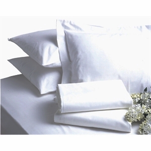 Bed Linen Double Polycotton Flat Sheet