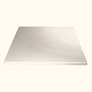 Bolero Square Table Top White 700mm