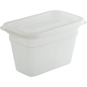Bourgeat Airtight Gastronorm Container & Lid 1/9 100ml Deep (800ml)