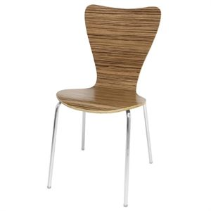 Butterfly Chair Zebrano Finish