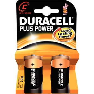 C Duracell Batteries (2 Pack)