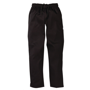 Chefs Trousers Black.