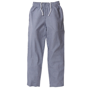 Chefs Trousers Small Blue Check.