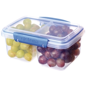 Clip-It Food Storage Container Split Base 1 Litre