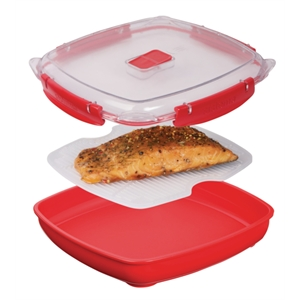 Clip-It Microwave Plate 800ml