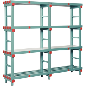 Euro Rack Plastic 1800 x 400 x 1670mm