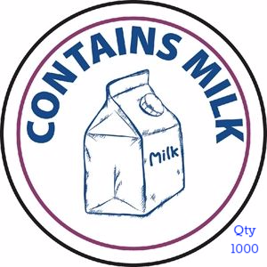 Food Allergen Label Milk