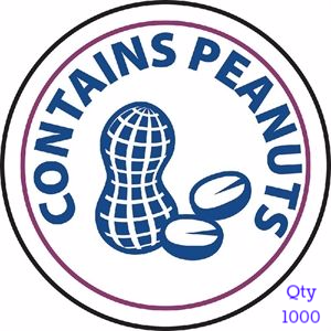 Food Allergen Label Peanuts