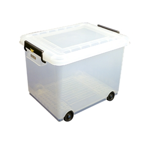 Food Storage Container 70 litre 655(h)x435(w)x455(d) Mobile
