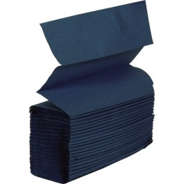 Hand Towel Z-Fold 1 ply Blue
