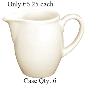 Ivory Porcelain Milk Jug 5oz