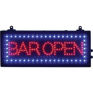 LED Bar Open Sign