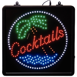 LED - Cocktails - Display Sign