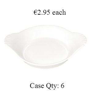 Miniature Eared Dish Round