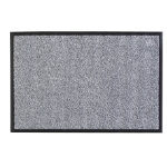 Rubber Backed Floor Mat 5'x3' Grey (90x150cm)