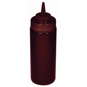 Squeeze Sauce Bottle 12oz Brown