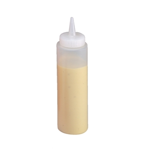 Squeeze Sauce Bottle 12oz Clear