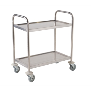 2 Tier Clearing Trolley Small