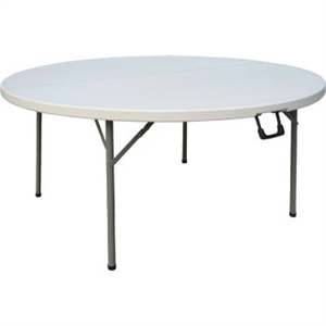 5ft Diameter Round Centre Folding Table