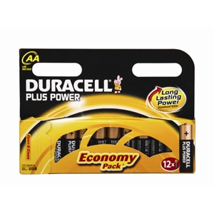 AA Duracell Batteries (12 Pack)