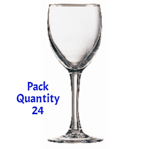 Arcoroc Princesa Wine Glasses 230ml Pack of 24