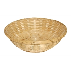 Basket Wicker Round