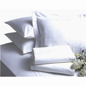 Bed Linen Single Polycotton Flat Sheet