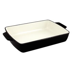 Black Rectangular Roasting Dish Extra Large
