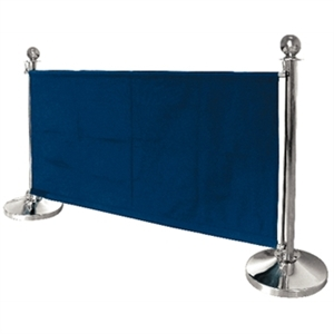 Blue Café Barrier