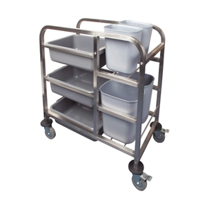 Bussing Trolley 3 Tier