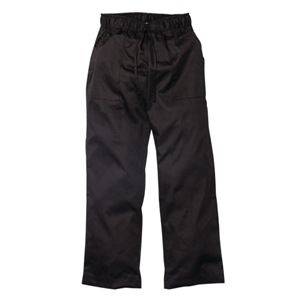 Chefs Trousers Ladies Executive Black.
