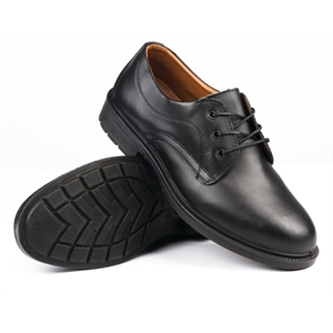 Executive Gents Safety Shoe Black Lace Up.