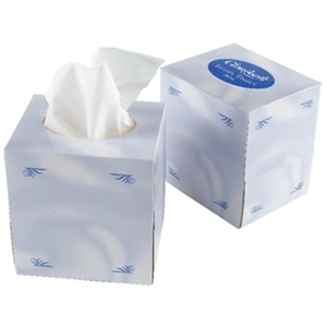 Facial Tissues Cube