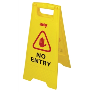 Floor Sign- No Entry Safety Sign