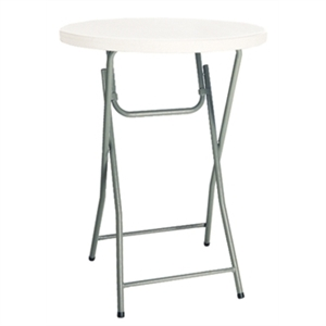 Foldaway Poseur Table