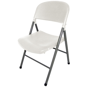 Foldaway Utility Chair White