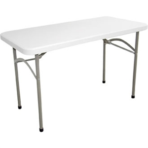 Foldaway Utility Table Rectangular 4ft