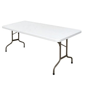 Foldaway Utility Table Rectangular 6ft