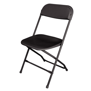 Folding Chair Black(Pack of 10)
