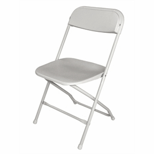 Folding Chair White(Pack of 10)