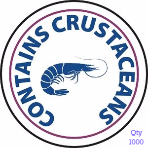 Food Allergen Label Crustaceans
