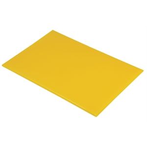 High Density Chopping Board Yellow