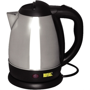 Hotel Room Mini Kettle Stainless Steel 1.2 Litre