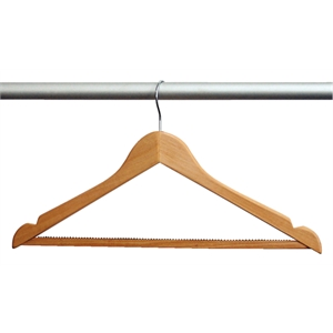 Hotel Room Wooden Hangers with Hook
