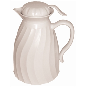 Insulated Beverage Server White 2Ltr