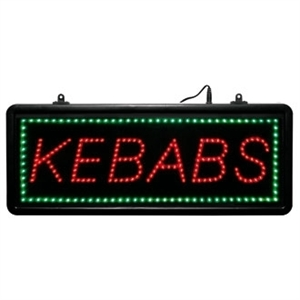 LED - Kebab - Display Sign