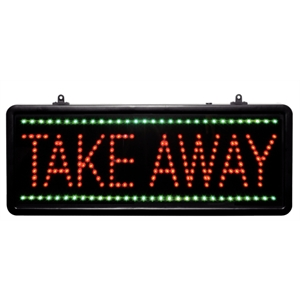 LED - Take Away - Display Sign